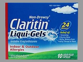 Claritin Liqui-Gel 10 mg capsule