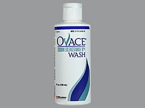 Ovace 10 % topical cleanser