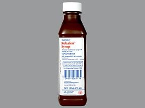 Robafen 100 mg/5 mL oral liquid