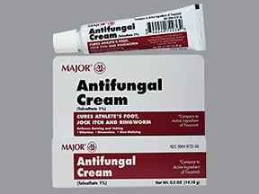 Antifungal (tolnaftate) 1 % topical cream
