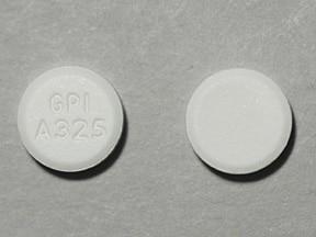 Mapap (acetaminophen) 325 mg tablet