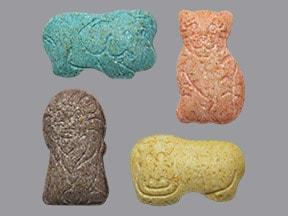 Animal Shape Vitamins chewable tablet