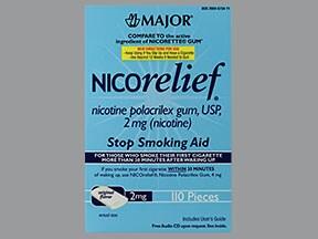 Nicorelief 2 mg gum