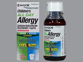Children's All Day Allergy (cetirizine) 1 mg/mL oral solution