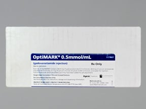 OptiMARK 5 mmol/10 mL (330.9 mg/mL) intravenous solution