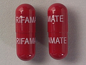 Rifamate 300 mg-150 mg capsule