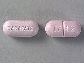 Carafate 1 gram tablet