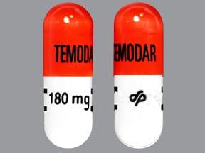 Temodar 180 mg capsule