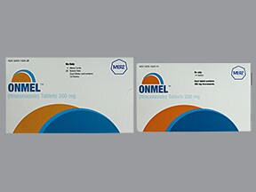 Onmel 200 mg tablet