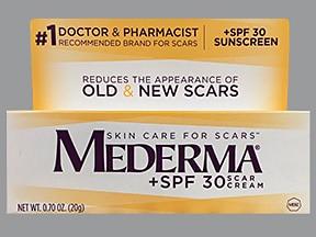 Mederma SPF 30 topical cream