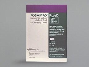 Fosamax Plus D 70 mg-2,800 unit tablet