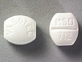 Vasotec 5 mg tablet