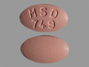 Zocor 40 mg tablet