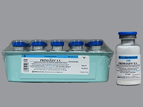 Primaxin 500 mg intravenous solution