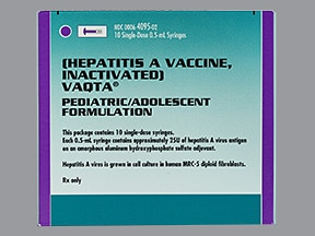 Vaqta (PF) 25 unit/0.5 mL intramuscular syringe