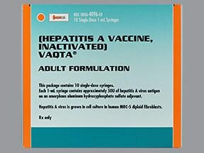 Vaqta (PF) 50 unit/mL intramuscular syringe