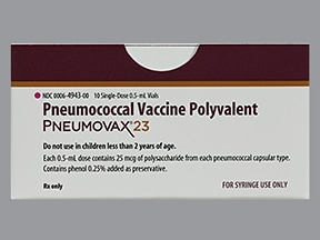 Pneumovax 23 Injection Uses Side Effects Interactions