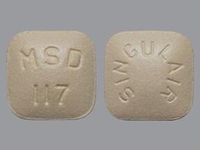 Singulair 10 mg tablet
