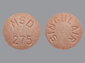 Singulair 5 mg chewable tablet