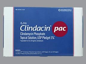 Clindacin Pac 1 % topical kit