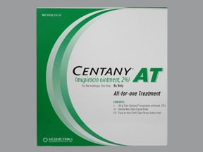 Centany AT 2 % ointment topical kit