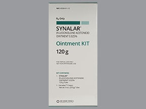 Synalar Ointment Kit 0.025 % topical pack,ointment and cream