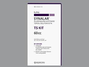 Synalar TS 0.01 % topical kit