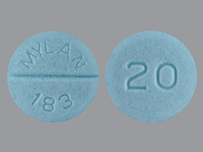 propranolol 20 mg tablet