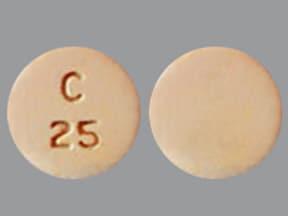 clozapine 25 mg disintegrating tablet