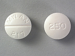tolazamide 250 mg tablet