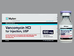 vancomycin 500 mg intravenous solution