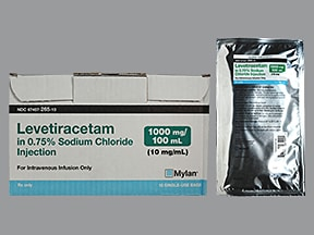 levetiracetam 1,000 mg/100 mL in sodium chloride(iso-osm) IV piggyback