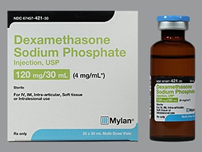 dexamethasone 4 mg/mL injection solution