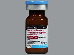 dexamethasone 4 mg/mL injection solution