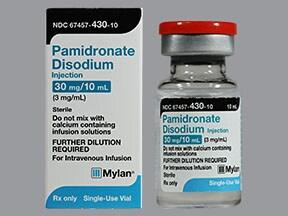 pamidronate 30 mg/10 mL (3 mg/mL) intravenous solution