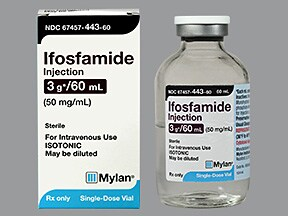 ifosfamide 3 gram/60 mL intravenous solution