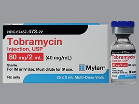 tobramycin 40 mg/mL injection solution