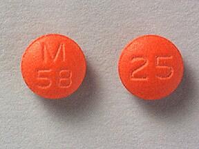 thioridazine 25 mg tablet