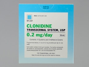 needed clonidine anxiety for as