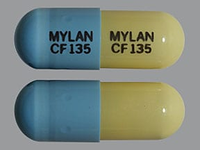 fenofibric acid (choline) 135 mg capsule,delayed release