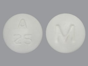 acarbose 25 mg tablet