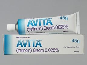 Avita 0.025 % topical cream