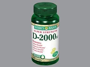 D3-2000 2,000 unit capsule