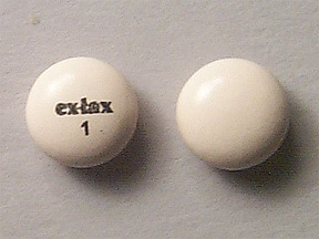 Ex-Lax (sennosides) 15 mg tablet