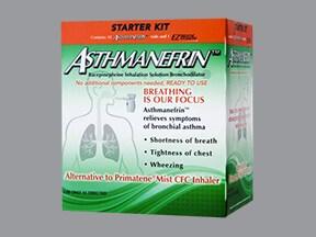 Asthmanefrin Starter Kit 2.25 % solution for nebulization