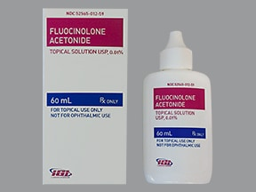 fluocinolone 0.01 % topical solution