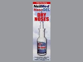 Nasogel 0.9 % nasal spray gel