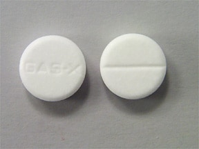 Gas-X 80 mg chewable tablet