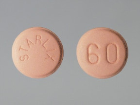 Starlix 60 mg tablet