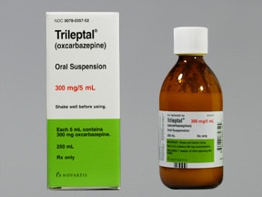 Trileptal 300 mg/5 mL (60 mg/mL) oral suspension